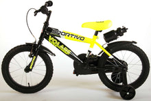 Load image into Gallery viewer, Volare Sportivo 16 Inch 25,4 cm Boys Rim Brakes Black/Yellow