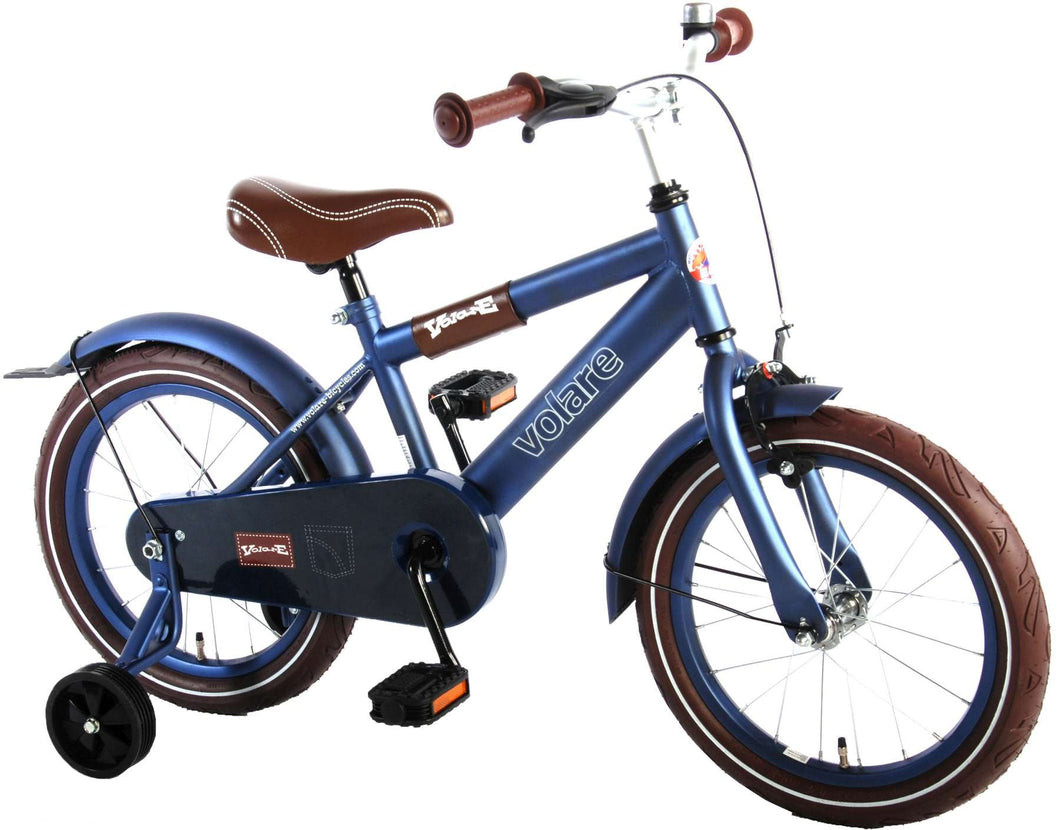 Volare Urban City 16 Inch 25,5 cm Boys Coaster Brake Matte blue