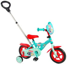 Load image into Gallery viewer, Woezel & Pip Boys Bike 10 Inch 18 cm Boys Fixed Gear Green/Red