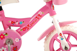 Yipeeh Flowerie 10 Inch 18 cm Girls Fixed Gear Pink