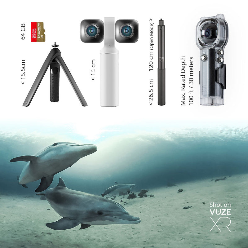 Vuze XR 3D VR & 360 Camera Ultimate Kit