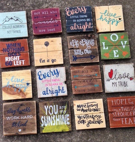 Cute & Funny Wood Signs
