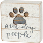 PBK DOG PEOPLE SIGN