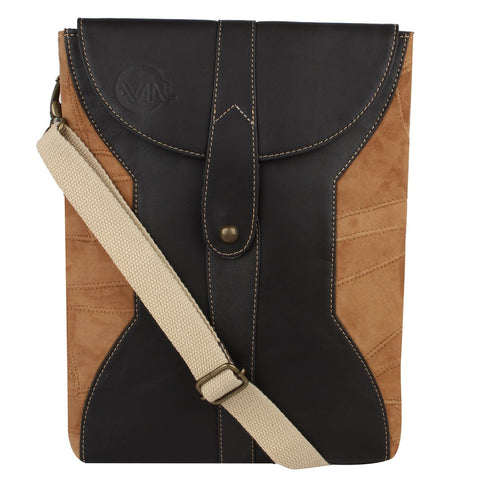 VAAN & CO. CROSS BODY BAG AXEL TAN