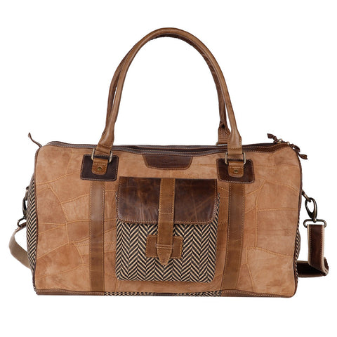 VAAN & CO. HARDY DUFFEL BAG TAN