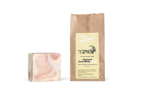 SALLYE ANDER ALMOND GOAT MILK ESSENTIAL SOAP