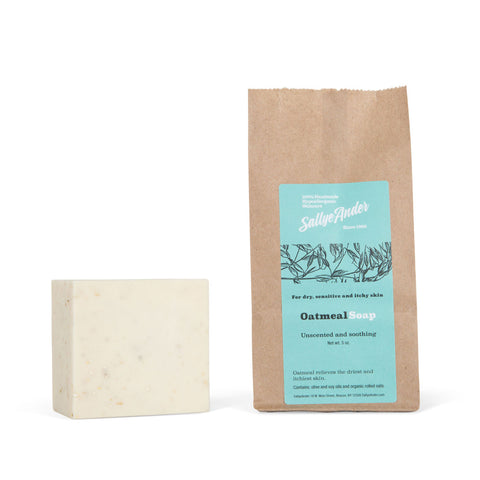 SALLYE ANDER OATMEAL ESSENTIAL SOAP
