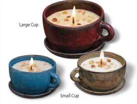 SWAN CREEK LARGE COFFEE CUP CANDLE