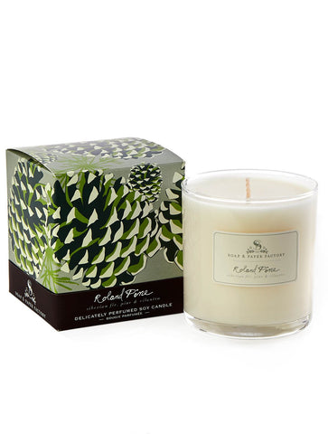 SPF ROLAND PINE SINGLE-WICK SOY CANDLE 9.5 OZ