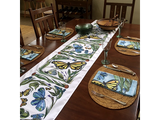 CLAY BORN TEXTILES TABLE RUNNERS