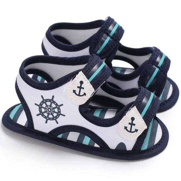 Anchor's Away Baby Sandal - Teeny Weeny Soles
