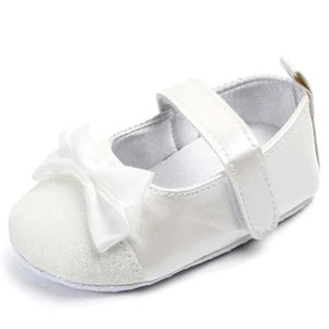 Champagne Mary Jane Baby Girl Shoe - Teeny Weeny Soles