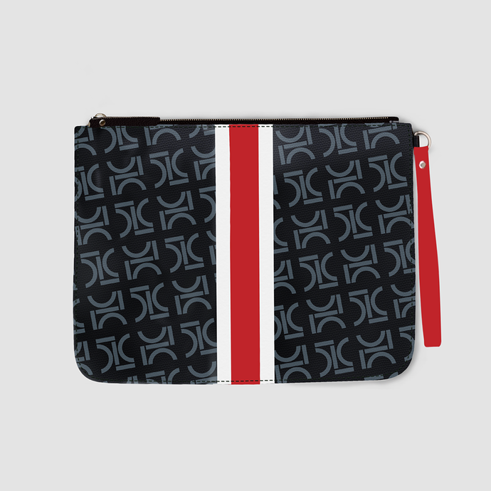 Monogram Pouch Risky Red