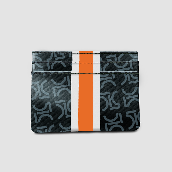 Monogram Cardholder Mandarin Orange