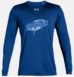 Long Sleeved Thunder Royal Blue Shirt