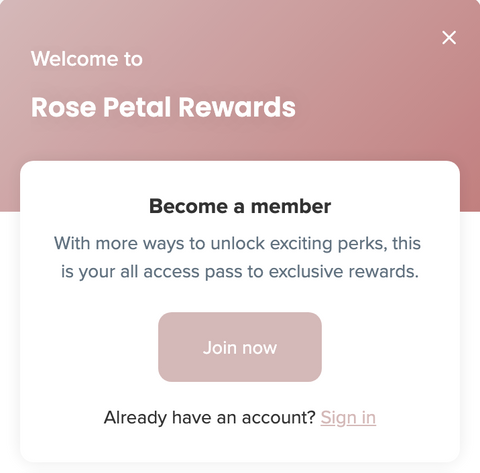 rose petal rewards