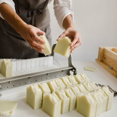 making vegan soap with essential oils