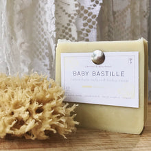 Load image into Gallery viewer, baby bastille bar soap with sea sponge