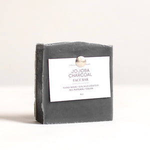 Grey jojoba charcoal face bar 4 oz