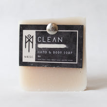 Load image into Gallery viewer, Clean masculine hand and body bar soap