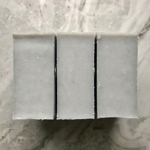 Grey Masculine Hand & Body Soap top view