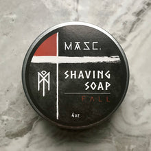 Load image into Gallery viewer, Masculine Fall Shaving Soap