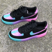 Load image into Gallery viewer, Black Unicorn Custom Painted Nike Low Air Force 1