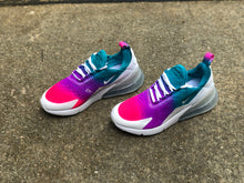 Load image into Gallery viewer, Rainbow Streaks Nike Air Max 270 Customz