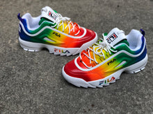 Load image into Gallery viewer, Rainbow Fila Disruptor 2 Customs