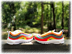 Rainbow Fun Nike Air Max 97 Custom