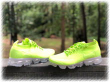 Load image into Gallery viewer, Lime Nike Air Vapormax Flyknit 2 customs