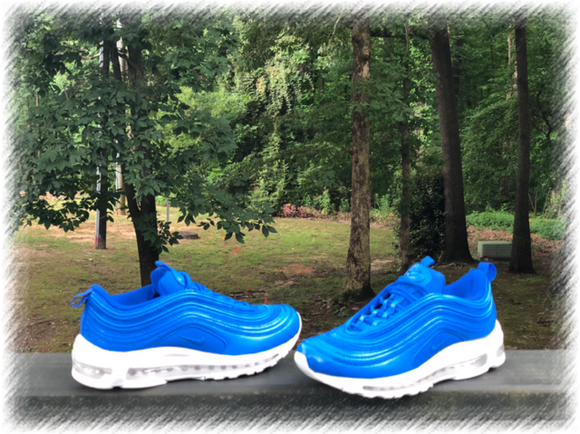 True Blue Nike Air Max 97 Custom