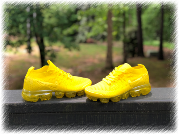 SunshineYellow Nike Air Vapormax Flyknit 2 customs