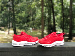 Fire Red Nike Air Max 97 Custom