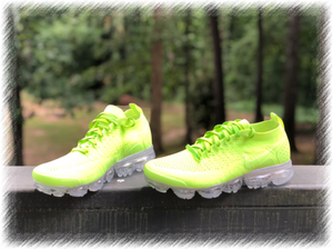 Lime Nike Air Vapormax Flyknit 2 customs