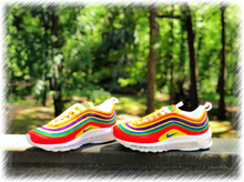 Load image into Gallery viewer, Rainbow Fun Nike Air Max 97 Custom