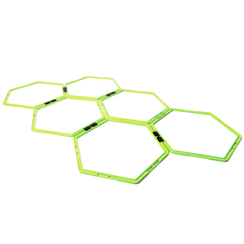 Octagon Agility Rings- 6 Pack