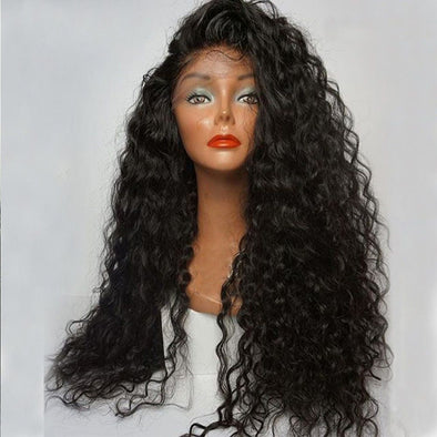 Lace Front Black Wig african american grey wigs Lace hair wig websites
