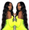 Lace Front Black Wig burgundy wigs african american blunt cut closure