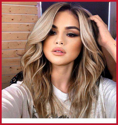 Blonde Wigs Lace Frontal Hair Ash Blonde Ombre