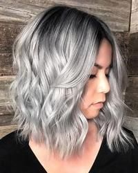 Gray Wigs Lace Frontal Wigs best permanent hair color to cover gray