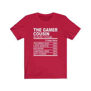 The Gamer Cousin Short Sleeve Tee