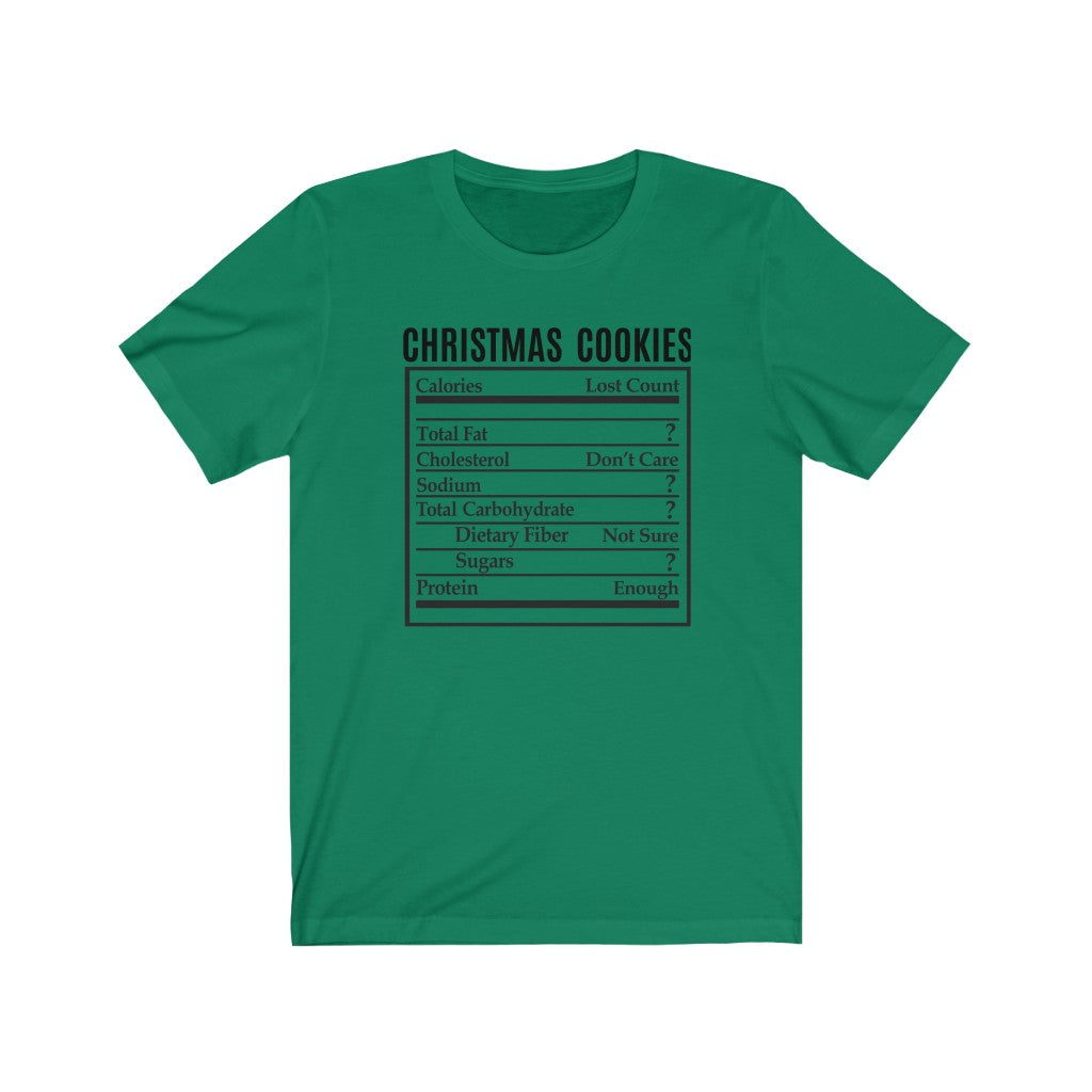 Christmas Cookies Short Sleeve Tee