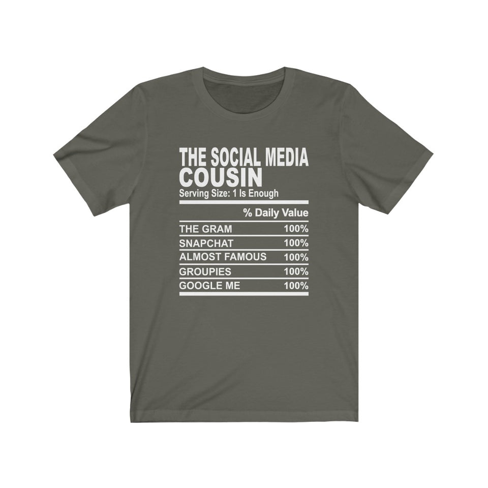 The Social Media Cousin Short Sleeve Tee