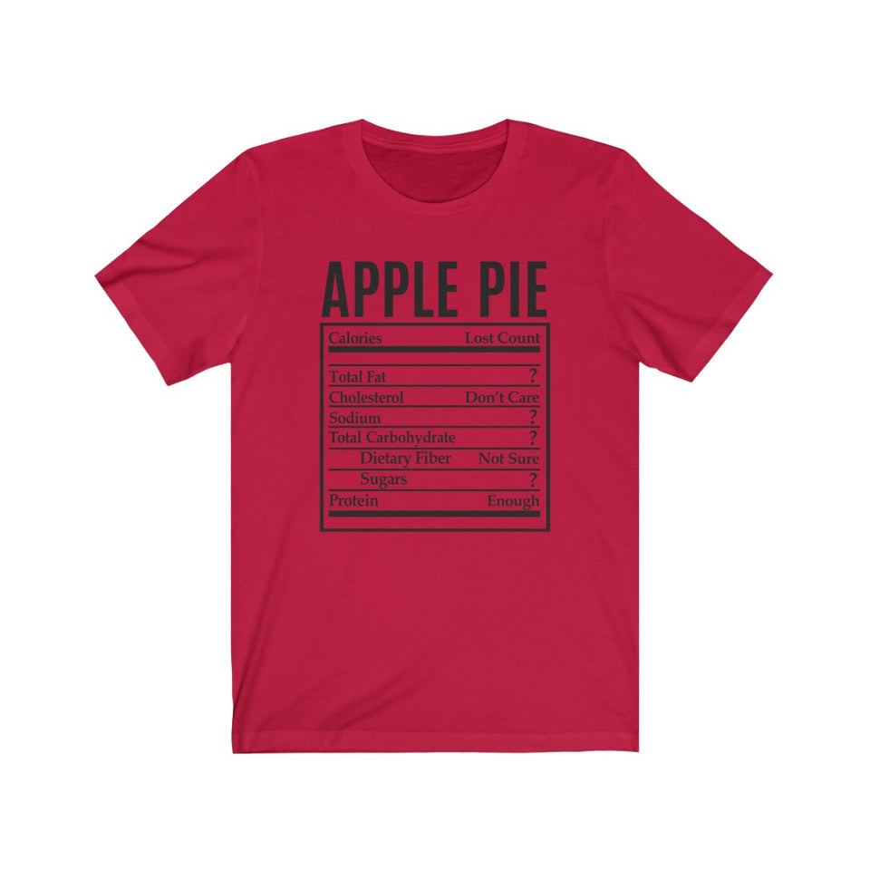 Apple Pie Short Sleeve Tee
