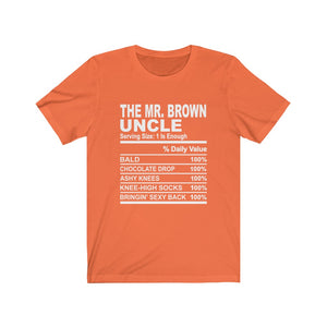 The Mr. Brown Uncle Short Sleeve Tee