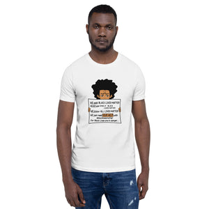 Men's Black Lives Matter T-Shirt