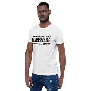Men's Marriage for Football Season T-Shirt