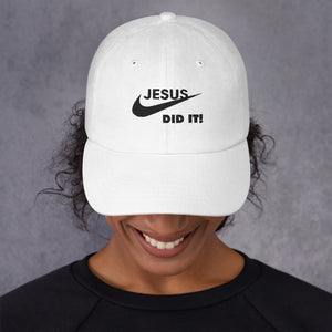 Jesus Did It Hat