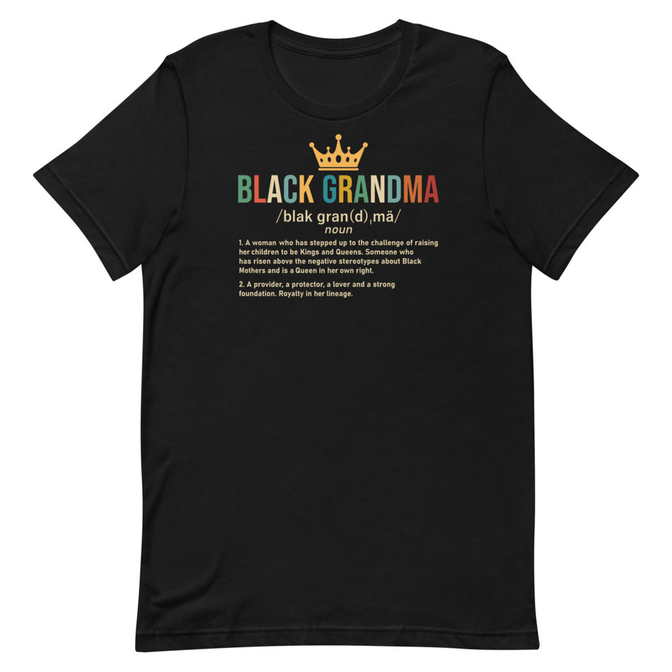 Black Grandma T-Shirt